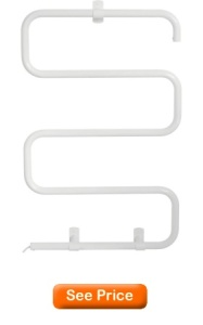 Homeleader TW-05W wall mounted Towel Warmer 100W, white