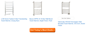best electric towel warmers