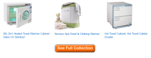 best towel warmer cabinets for spas and salons
