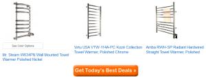 best wall mounted towel warmers