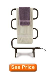 Conair Home Towel Warmer and Drying Rack, Bronze