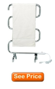 Warmrails HCC Mid Size Wall Mounted or Floor Standing Towel Warmer