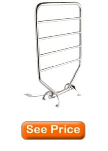 Warmrails RTC Mid Size Wall Mounted or Floor Standing Towel Warmer