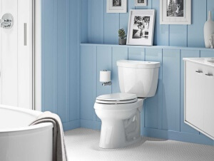 brand new toilet for bathroom