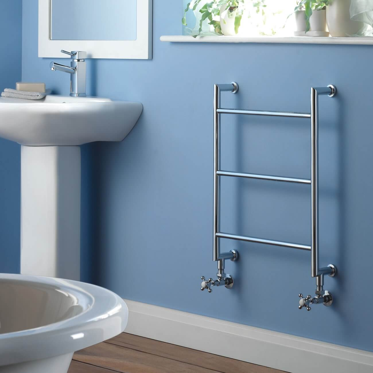 hydronic towel warmer