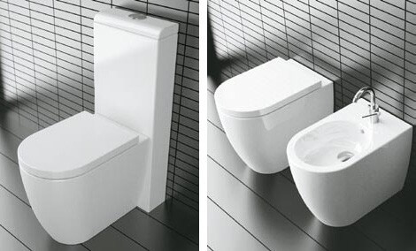 modern bathroom toilet