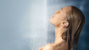 regular morning showers