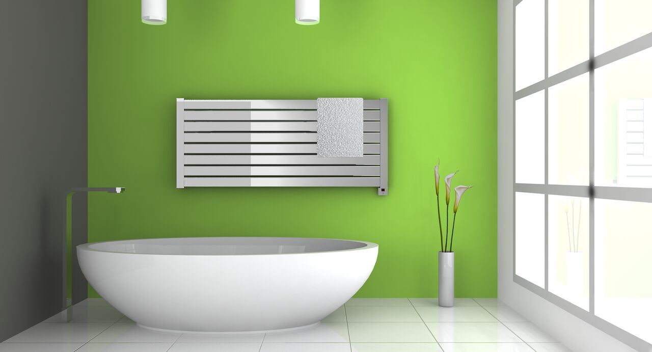 common finish styles of towel warmers