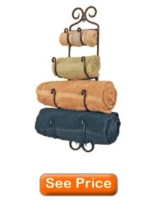 best towel rack for small bathroom Adirondack Towel Rack