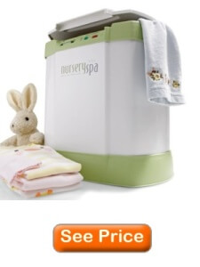 nursery spa towel warmer review