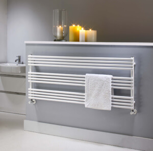 electric vs hydronic towel warmers
