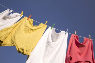 remove mould from clothes